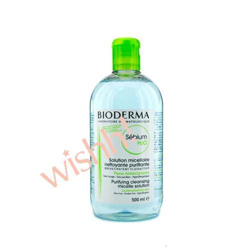 Bioderma 貝德瑪   控油卸妝潔膚水- 綠蓋  500ml