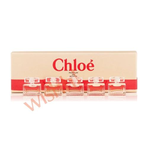 (秒殺) CHLOE 歌露兒  玫瑰香水小辦 5ml x 5件套裝