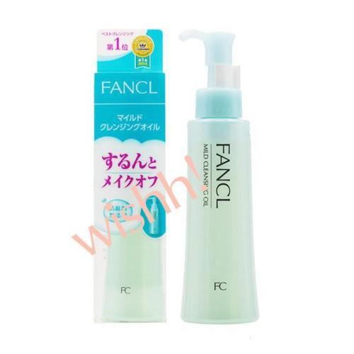 FANCL 芳珂 無添加  MCO 納米卸粧液  120ml 綠膠盒