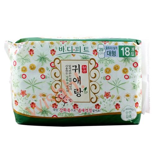 Gweiaerang 貴愛娘【韓方中草藥系列】 防菌除臭日用衛生巾 29cm (18片)