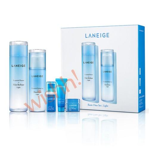 Laneige 蘭芝  海藻水凝補濕(輕盈清爽型) 套裝  (5件) 藍盒
