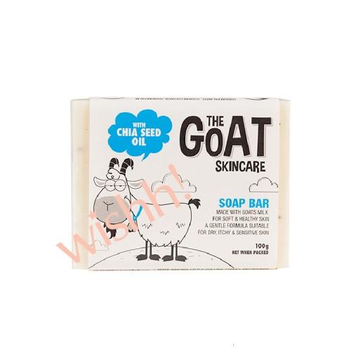 澳洲 THE GOAT  羊奶奇亞籽手工香皂  100g (黑色)