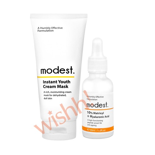 modest. 
